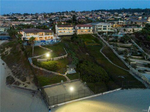 Paseo De La Playa Aerial View
