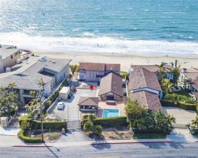 Oceanfront homes in the Hollywood Riviera